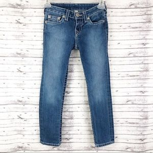 True Religion Jeans Girls Skinny Size 7.